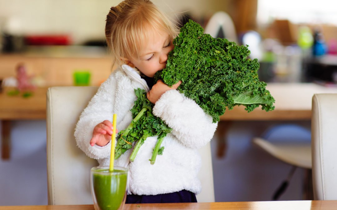 Kale is for kids too!